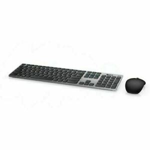 New OPEN BOX  Dell Premier Wireless Keyboard and Mouse - KM717-GY-US NO BATTERY