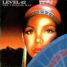 "Level 42 The Chinese Way UK 7"" vinyl single record POSP538 POLYDOR 1982"