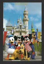 Vintage Disneyland Smile Please Postcard Mickey, Minnie and Friends (Unused)