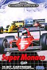## Super Monaco Grand Prix GP 1 - SEGA Mega Drive / MD Spiel - TOP ##