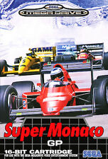 # SUPER MONACO GRAND PRIX GP 1-Sega Mega Drive/MD gioco-TOP #