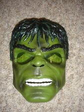 Marvel Incredible Hulk mask ight up green eyes adjustable strap
