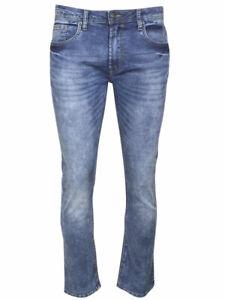 Buffalo David Bitton Max-X Jeans Contrasted Indigo Men's Skinny Stretch