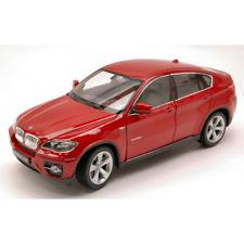 BMW X6 2009 RED METALLIC 1:24