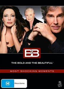 The Bold And The Beautiful DVD Most Shocking Moments 4-Disc Set New Aus Region 4