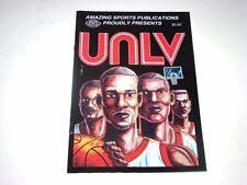 UNLV Runnin' Rebels Basketball Vintage '90 Championship Commemorative Comic Book