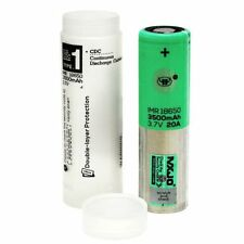 MXJO IMR 18650 3500MAH 20A 3.7V Battery Authentic Original Flat Top Batteries
