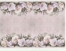 Rice Paper - Pastel roses - for Decoupage Scrapbook Craft