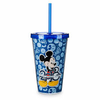 Disney Parks Exclusive Mickey Mouse Tumbler Cup Straw 2018 Walt Disney World WDW