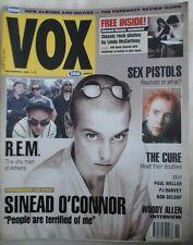 VOX MAGAZINE NOV 1992 SINEAD O'CONNOR SEX PISTOLS CURE PJ HARVEY PAUL WELLER EX