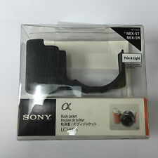 Genuine Sony LCJ-EBA Body Jacket Black for NEX-5T NEX-5R