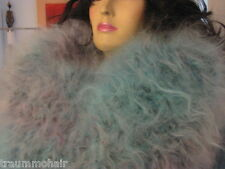 Traummohair c235 Fuzzy longhair mohair Catsuit Sweater overall cowlneck XL nuevo