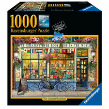 Ravensburger Greatest Bookshop 1000 Piece Jigsaw Puzzle New Sealed
