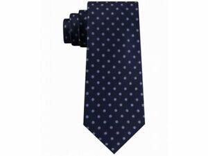 Tommy Hilfiger Men's Mont Classic Dot Tie Navy/Blue