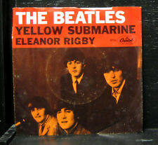 "The Beatles - Yellow Submarine / Eleanor Rigby VG+ 7"" Vinyl 1966 Capitol 5715"