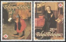 Belgium 1991 Red Cross Fund/Welfare//Paintings/Art/Birds/Artists 2v set (n32563)