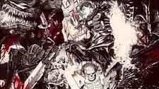 "Berserk-Manga Kentaro Miura Anime Silk Cloth Poster 43 x 24"" Decor 03"