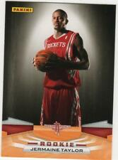 2009-10 Panini Houston Rockets Basketball Card #332 Jermaine Taylor Rookie