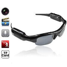 Spy Sunglasses Hd Dvr Hidden Camera Video Recorder Mp3 Player Tf Slot Eyewear