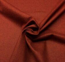 """Valley Forge 100% Wool Solid Rust Orange Felt Multiuse Fabric By Yard 58""""W"""