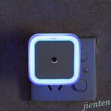 US EU Plug Auto LED Light Induction Sensor Control Lamp Smart Home Night Light
