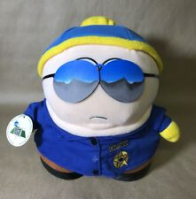 """1998 South Park Police Officer/Cop Cartman 11"""" Plush - Limited Edition With Tag"""