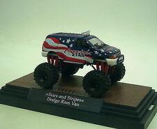 1:87 Busch Dodge Ram Van / Stars & Stripes