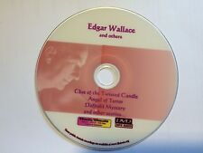 Edgar Wallace and others Audiobook Collection Mp3 DVD