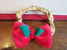 Fisher Price Briarberry BEARS  RED GOLD Headband for Berry Nicole BerryNicole