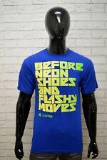 ADIDAS Polo Maglia Uomo Taglia M Maglietta T-Shirt Herrenhemd Cotone Blu Hemd