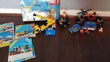 Lego 6361 Mobile Crane 6357 stunt copter , 6694 & 6675