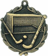 "PUD 1 3/4"" Field Hockey Neck Medal 32203, Free engraving"