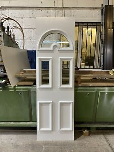 Second Hand UPVC Door Panel, White 545mm Wide 1770mm Height, 28mm Thick, (P232)