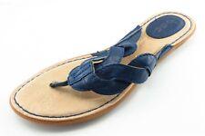 Born Concept Size 7 M Blue Flip Flop Synthetic Women Sandal Shoes