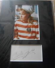 Annette Andre The Prisoner *SIGNED* Display Autograph Photo Patrick McGoohan