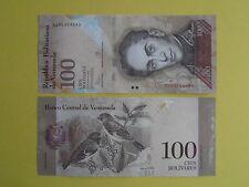 Billet de 100 bolivares du Vénézuela