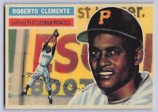 "1956  ROBERTO CLEMENTE - Topps ""REPRINT"" Baseball Card # 33 - PITTSBURGH PIRATES"