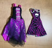 Monster High Doll Spectra Vondergeist Dress Lot Power Ghouls & Ghouls Alive