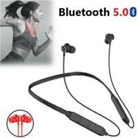 Bluetooth Neckband Headphone Magnetic Wireless Earbuds Sport In-Ear Earphones US