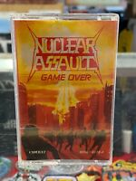 Nuclear Assault Game Over cassette tape Combat 1986 [thrash metal]