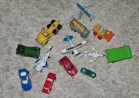Various Vintage Matchbox & Corgi Cars And Planes