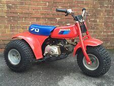 1985 HONDA ATC 70: Superb Off Road Mini Kid's Classic ATV/Monkey 3 Wheeler Trike