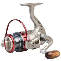 Golden Reel Spinning Fishing Reel Fixed Spool Reel Coil Fish Fishing #8Y