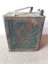 Vintage Redline Petrol Can
