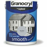 Granocryl Outdoor Smooth Masonry Paint Home Exterior Brick Stone Concrete 5L