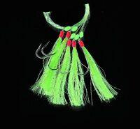 DEGA Makrelenpatern. chartr Glitzernde Iris/Glitter. mit 5 Seitenarmen Hg.3/0