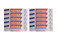 10x ELMEX Intensivreinigung Spezial Zahnpasta 50ml 08794198 Zahncreme