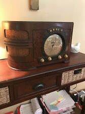Vintage old wood antique tube radio ZENITH Mdl 6S321 !  WOW !