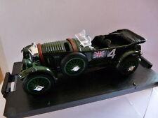 car 1/43 BRUMM 24 hours le Mans : BENTLEY Speed six winner 1 st 1930