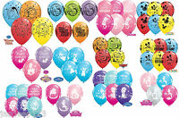 "11"" Disney Characters Cartoon Party Birthday Balloons Mickey Frozen Girl Boy"